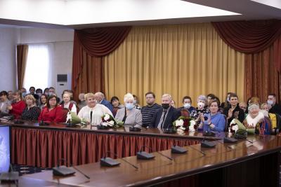 Участники встречи от души радовались за своих коллег / Фото Игоря Ибраева