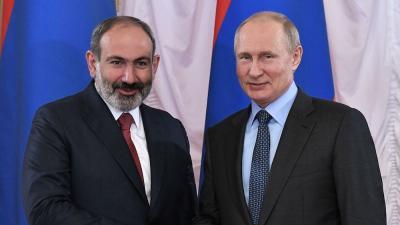 Владимир Путин и Никол Пашинян / Фото kremlin.ru