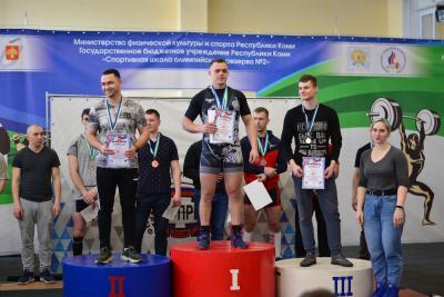 Руслан Болденко победитель и призёр соревнований в Сыктывкаре / Фото Евгения Зырянова