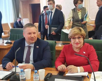 Встреча с Д. Н. Патрушевым / Фото предоставлено автором