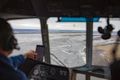 Печора готова к движению льда / Фото Игоря Ибраева
