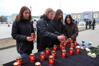 НАО присоединился к акции памяти по погибшим в Татарстане / Фото Екатерины Эстер