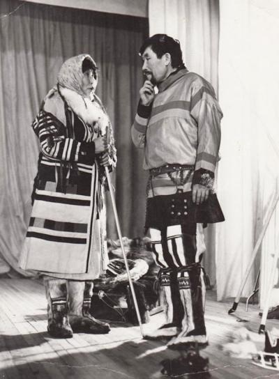 Анастасия Михайлова – одна из первых артистов театра «Илебц» / Фото из семейного архива