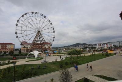 В этом туристическом сезоне отдых в Сочи долгое время был альтернативой турецким курортам / Фото автора