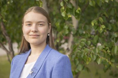 По русскому языку Ирина также показала высокий результат – 94 балла / Фото Игоря Ибраева