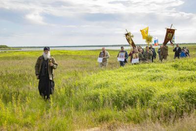 Нынешний поход посвящён духовному возрождению нашего Отечества / Фото Игоря Ибраева
