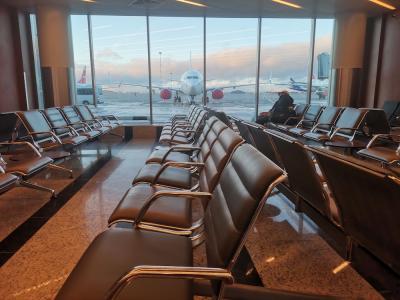 В ожидании рейса на Нарьян-Мар / Фото Автора