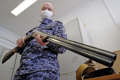 Оружие ошибок не прощает / Фото предоставлено Управлением Росгвардии по НАО
