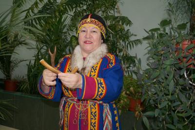 Фаина Ледкова – председатель землячества п. Нельмина Носа / Фото автора