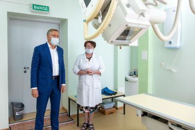 Новый маммограф удобен в использовании / Фото Екатерины Эстер