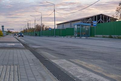 Устройство ливнёвки проводят в рамках реконструкции улицы Ленина  и дороги Нарьян-Мар – Искателей / Фото Игоря Ибраева