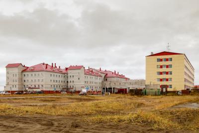 Кабинет МРТ оборудуют в главном корпусе больнице / Фото из архива «НВ»