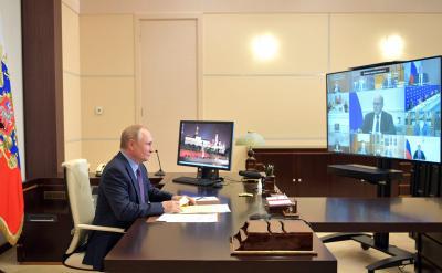 Обсуждался широкий круг актуальных социально-экономических вопросов / Фото kremlin.ru