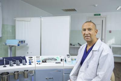 Александр Сафонов уже шесть лет возглавляет частный медицинский центр / Фото Игоря Ибраева
