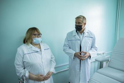 Юрий Бездудный отметил важность своевременной диагностики / Фото Игоря Ибраева