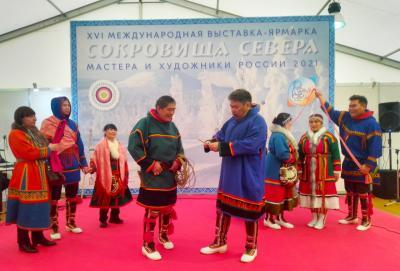 Артистам ненецкого народного театра аплодировали в Москве  / фото  из архива театра «Илебц»