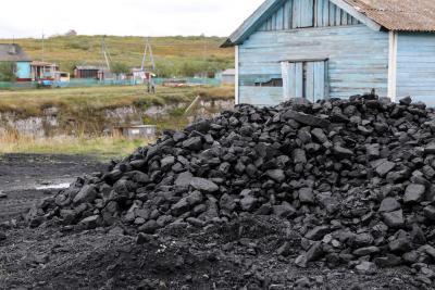 Каменный уголь для сельчан / Фото из архива «НВ»